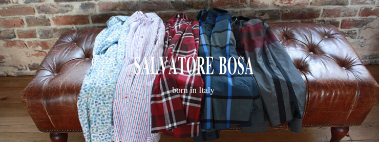 SALVATORE BOSA・Born in Italy